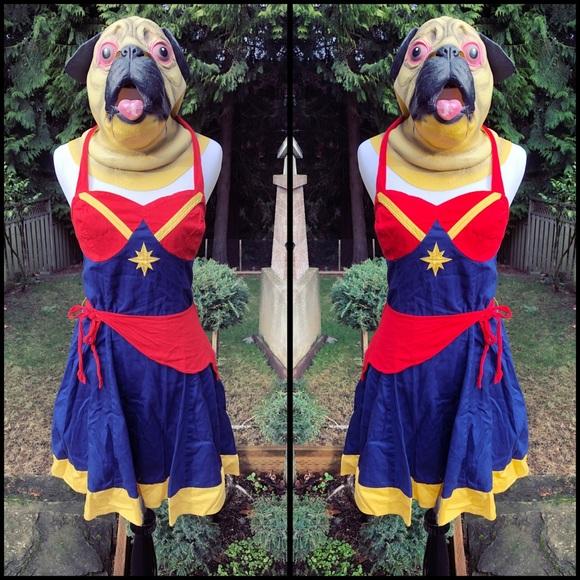 Marvel Dresses Marvel Captain Marvel Halter Dress Poshmark You can unsubscribe at any time. poshmark